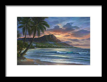 Load image into Gallery viewer, Diamond Sunrise - Framed Print