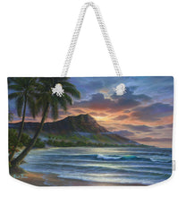 Load image into Gallery viewer, Diamond Sunrise - Weekender Tote Bag