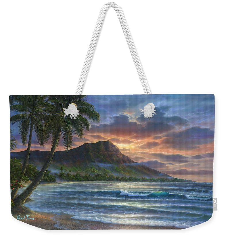 Diamond Sunrise - Weekender Tote Bag