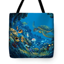Load image into Gallery viewer, Turtle Cove - Tote Bag