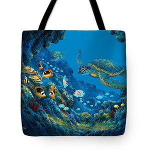 Turtle Cove - Tote Bag