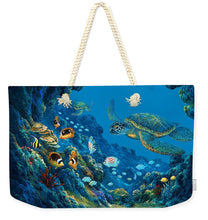 Load image into Gallery viewer, Turtle Cove - Weekender Tote Bag