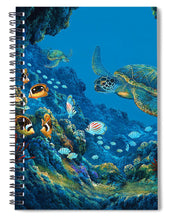 Load image into Gallery viewer, Turtle Cove - Spiral Notebook