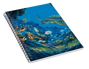 Turtle Cove - Spiral Notebook