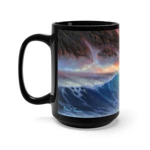 Kilauea Mauna Kea, By Robert Thomas, Black Mug 15oz