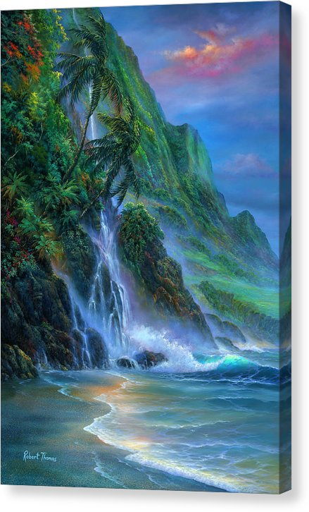 Faces Of Hawaii - Canvas Print