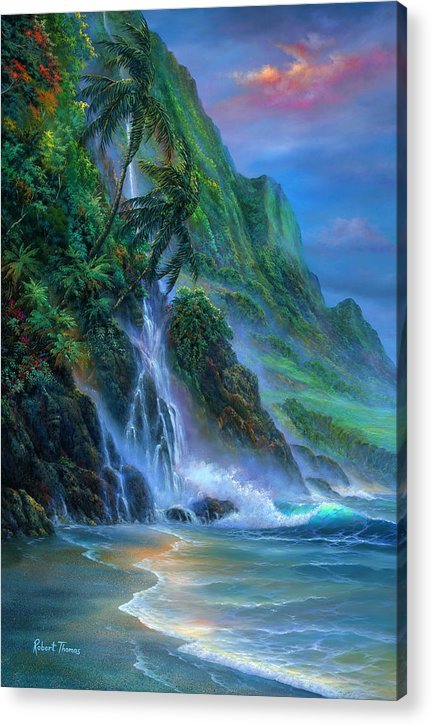 Faces Of Hawaii - Acrylic Print
