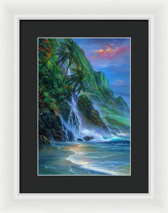 Faces Of Hawaii - Framed Print