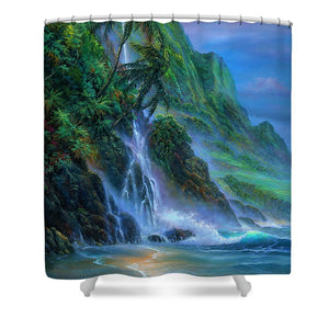 Faces Of Hawaii - Shower Curtain