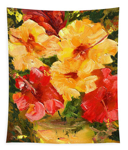 Flower Impressions - Tapestry