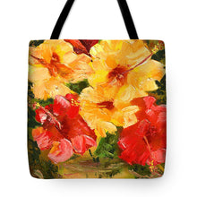 Load image into Gallery viewer, Flower Impressions - Tote Bag