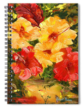 Load image into Gallery viewer, Flower Impressions - Spiral Notebook