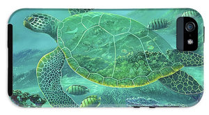 Glass Turtle - Phone Case
