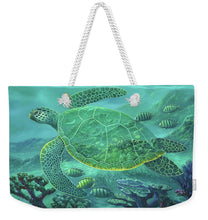 Load image into Gallery viewer, Glass Turtle - Weekender Tote Bag
