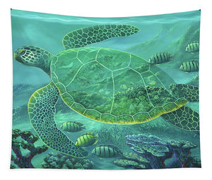 Glass Turtle - Tapestry