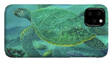 Load image into Gallery viewer, Glass Turtle - Phone Case