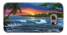 Load image into Gallery viewer, Hawaiian Sunset In Kona - Phone Case