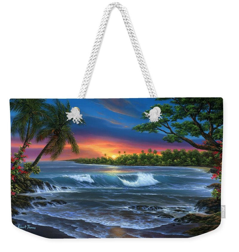 Hawaiian Sunset In Kona - Weekender Tote Bag
