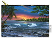 Load image into Gallery viewer, Hawaiian Sunset In Kona - Carry-All Pouch