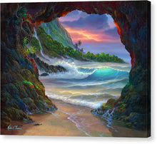 Load image into Gallery viewer, Kauai Seacave - Canvas Print