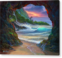 Load image into Gallery viewer, Kauai Seacave - Acrylic Print