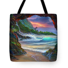 Load image into Gallery viewer, Kauai Seacave - Tote Bag