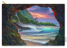 Load image into Gallery viewer, Kauai Seacave - Carry-All Pouch