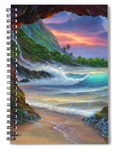 Load image into Gallery viewer, Kauai Seacave - Spiral Notebook