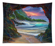 Load image into Gallery viewer, Kauai Seacave - Tapestry