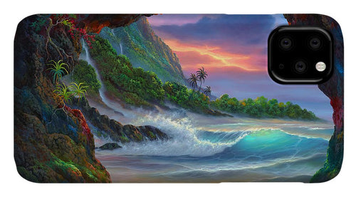 Kauai Seacave - Phone Case