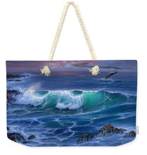 Load image into Gallery viewer, Maui Whale - Weekender Tote Bag