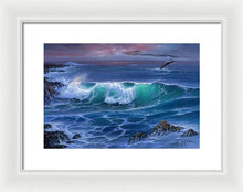 Load image into Gallery viewer, Maui Whale - Framed Print