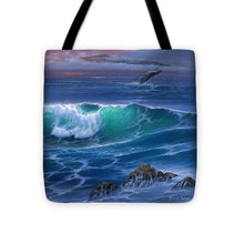 Load image into Gallery viewer, Maui Whale - Tote Bag