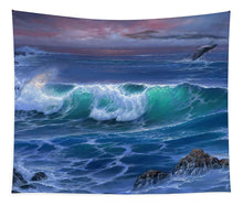 Load image into Gallery viewer, Maui Whale - Tapestry