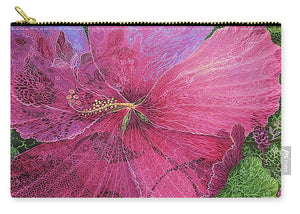 Pink Hibiscus Dream - Carry-All Pouch