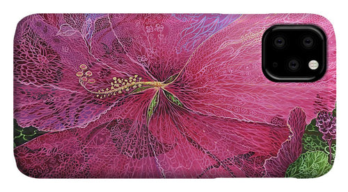 Pink Hibiscus Dream - Phone Case