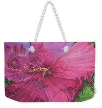 Load image into Gallery viewer, Pink Hibiscus Dream - Weekender Tote Bag