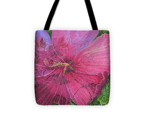 Pink Hibiscus Dream - Tote Bag