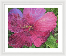 Load image into Gallery viewer, Pink Hibiscus Dream By Robert Thomas, Framed Print