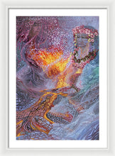 Load image into Gallery viewer, Sisterly Love With Goddess Pele And Namakaokahai - Framed Print