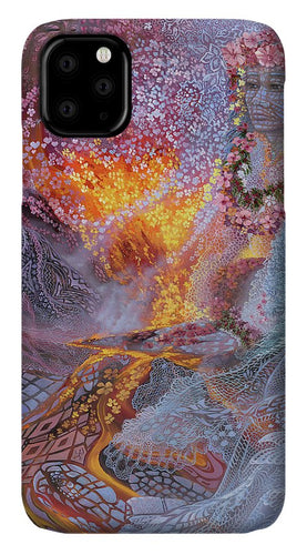 Sisterly Love With Goddess Pele And Namakaokahai - Phone Case