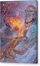 Load image into Gallery viewer, Sisterly Love With Goddess Pele And Namakaokahai - Acrylic Print