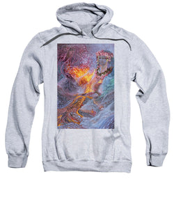 Sisterly Love With Goddess Pele And Namakaokahai - Sweatshirt