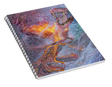 Load image into Gallery viewer, Sisterly Love With Goddess Pele And Namakaokahai - Spiral Notebook