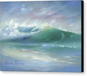 Soft Palette Knife Wave - Canvas Print