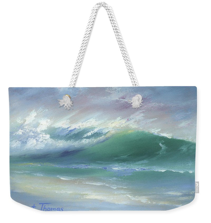 Soft Palette Knife Wave - Weekender Tote Bag