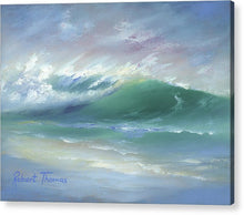 Load image into Gallery viewer, Soft Palette Knife Wave - Acrylic Print
