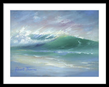 Load image into Gallery viewer, Soft Palette Knife Wave - Framed Print
