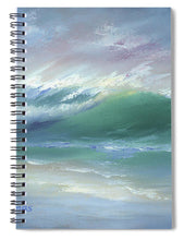Load image into Gallery viewer, Soft Palette Knife Wave - Spiral Notebook