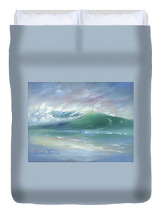 Soft Palette Knife Wave - Duvet Cover